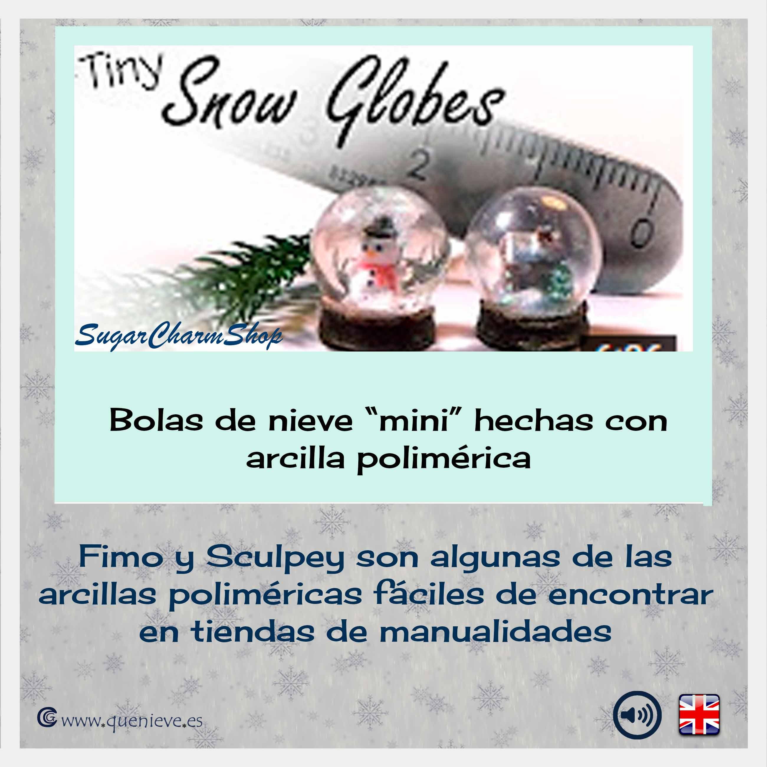 BOLAS DE NIEVE TUTORIALES