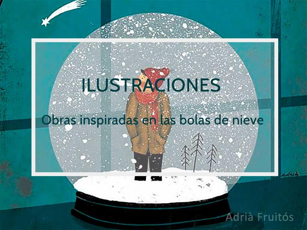 Bola de nieve ilustracion Adria Fruitos