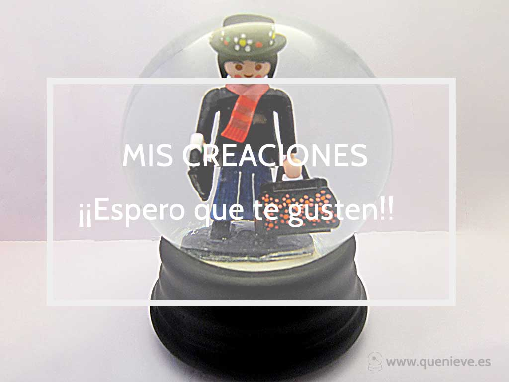 Bolas de nieve Mary Poppins by QueNieve