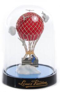 Bola de nieve publicidad de Louis Vuitton