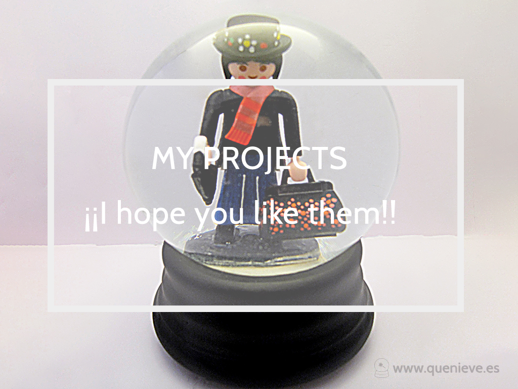 Custom snow globe with Mary Poppins by QueNieve